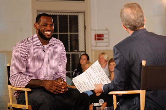 LeBron chose to go south,unlike all of the talented participants from L U's Got Talent.