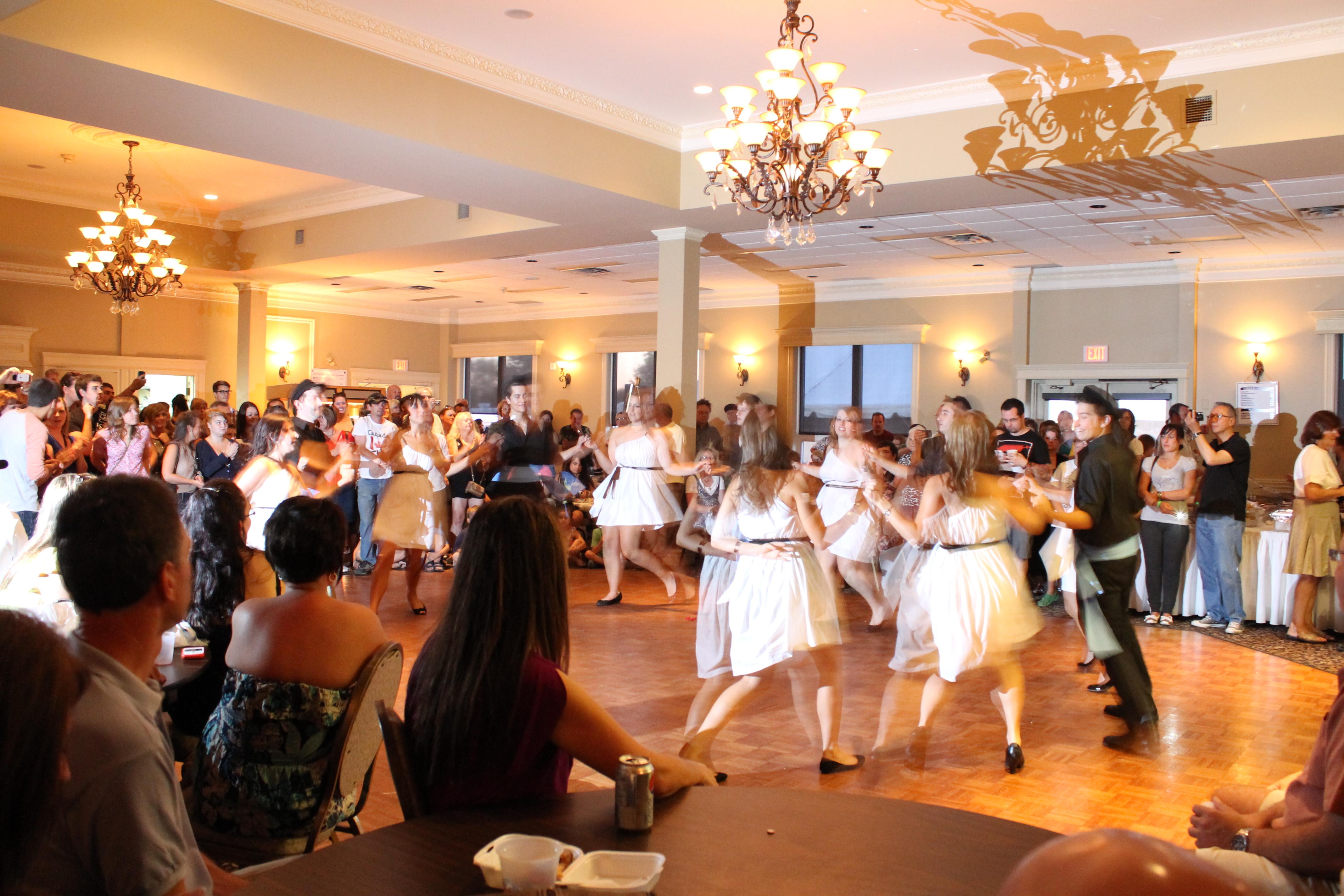 Zorba Dancers