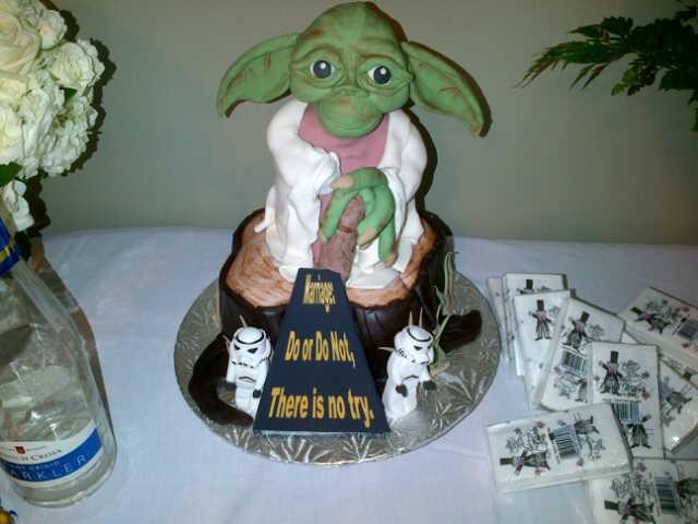 Best. Wedding. Cake. Ever.