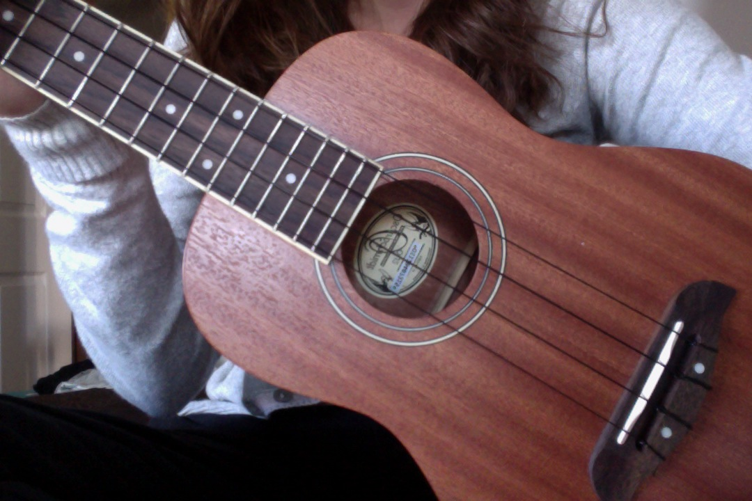 This is my ukelele