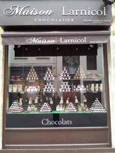 A chocolatier  I passed by on a Sunday (when nothing is open, of course) that I have vowed to visit when it is open!