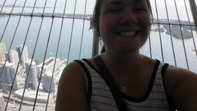 Traditional Selfie-In-Front-Of-A-Tourist-Attraction