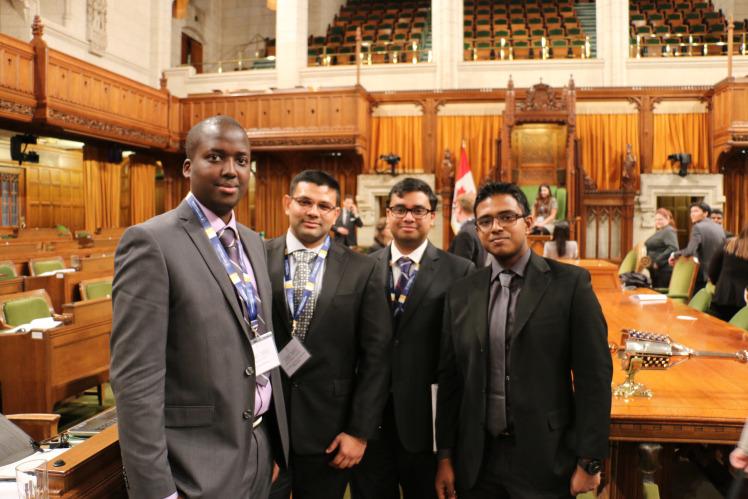 Model Parliament Prashad4