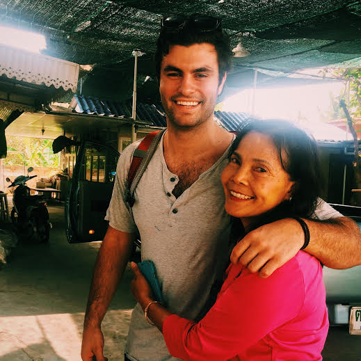 Me and my loving Thai host mother